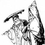 Ruth et Naomi, d'après Rembrandt