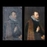 Portrait d'homme en buste style renaissance (XIXe)